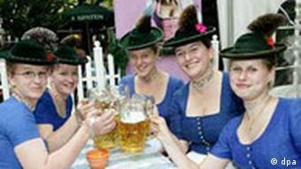 Biergarten in Deutschland