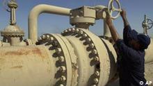 Öl-Raffinerie in Basra