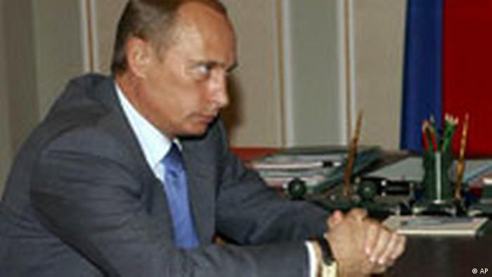 Gaskrieg in Rußland (AP)