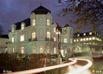 exterior del edificio de la dpa en Hamburgo