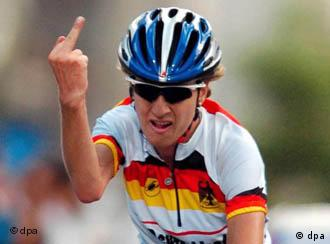Judith Arndt had a clear message for Germany's Cycling Federation