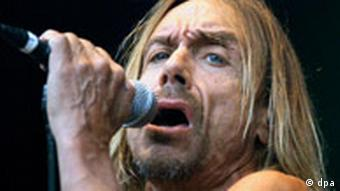 ie 54-jährige Pop-Ikone Iggy Pop