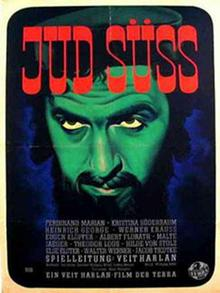 Film poster for The Jew Süss