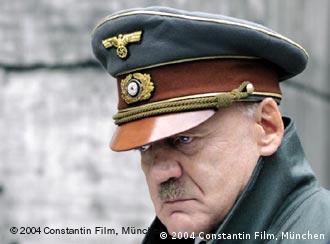 Bruno Ganz como Hitler