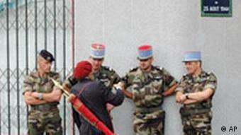 Gedenkfeier an Befreiung von Paris
