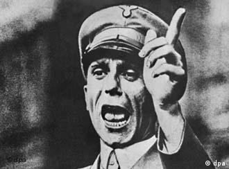Goebbels, ministro da Propaganda de Hitler