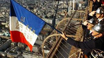 Jahrestag der Befreiung in Paris