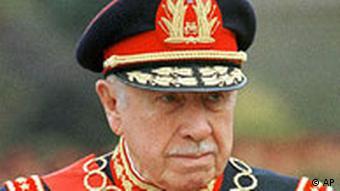 Der chilenische Diktator Augusto Pinochet im Jahr 1998 (Foto: AP)