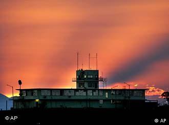 Sonnenuntergang über Guantánamo