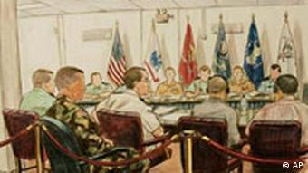 Gerichtsverhandlung Guantanamo