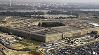 Luftbild vom Pentagon in Washington