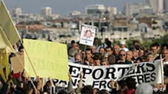 Kopftuch Demonstration in Paris