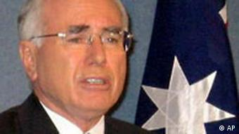Australiens Premierminister John Howard (AP Photo/Rod McGuirk)