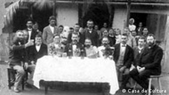 Schulfest deutscher Einwanderer in Brasilien, 1906