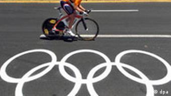 Zeitfahren und olympische Ringe