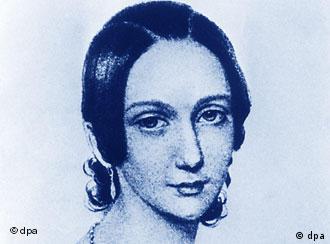 Das Gesicht der jungen Clara Schumann