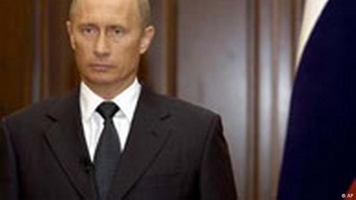 Wladimir Putin Fernsehansprache (AP)
