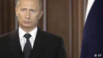 Wladimir Putin Fernsehansprache