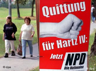 The neo-Nazi NPD is strong in the eastern state of Saxony