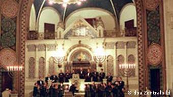 Synagoge in Rykestrasse Berlin