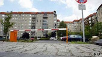 Führerbunker als Parkplatz in Berlin