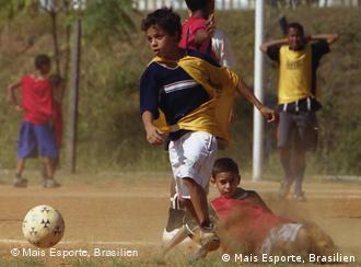 Proyecto Mais Esporte, Brasil: fútbol y solidaridad.