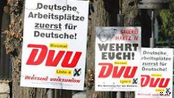 Rechtsextremismus Landtagswahlen Brandenburg