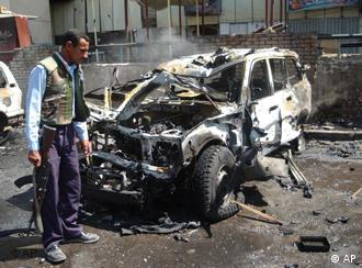 Suicide bombings are a near-daily occurrence in Iraq