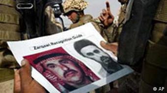 Fahndung nach Abu Musab el Sarkawi