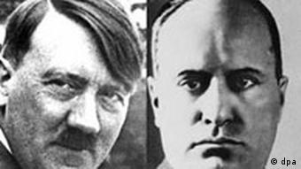 Achse Berlin-Rom Hitler und Mussolini