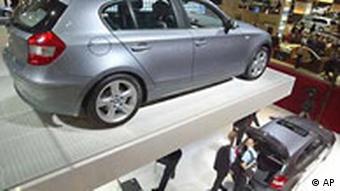 Pariser Autosalon BMW 120i