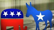 Symbolbild Wahlen USA Geld und Parteien