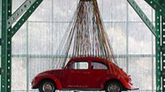 26. Kunstbiennale in Sao Paolo Brasilien VW Käfer