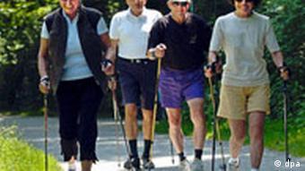 Nordic Walking will gelernt sein