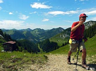 Nordic Walking: Wandern mit Schistöcken