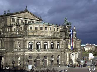 Дрезден. Оперный театр