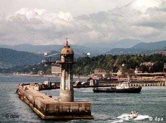 Treffen in Sotschi am Schwarzen Meer