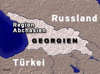 Spannungen wegen Abchasien-Konflikt