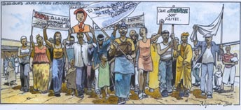 Illustration Africa Comics
