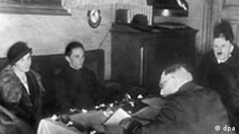 Hochzeitfoto Joseph Goebbels mit Magda Quandt