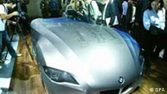 Automodell: BMW H2R