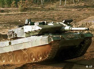 Customers like German made Leopard 2 tanks