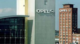 Opel factory in Ruesselsheim