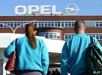 Завод Opel в немецком Бохуме