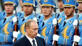 Wladimir Putin in Peking