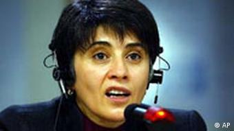 EU-Menschenrechtspreis an Leyla Zana übergeben