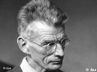 Portrait of the writer Samuel Beckett