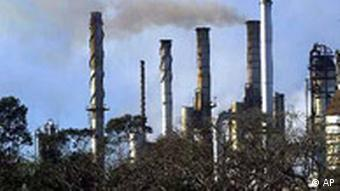 Industrieschornsteine in Brasilien