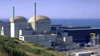 The nuclear plant of Flamanville, Normandy