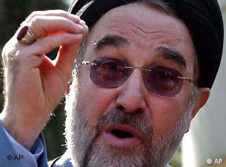 Ex-Präsident Mohammad Chatami